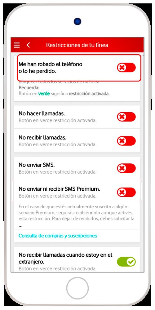 Robo | Ayuda Vodafone Particulares