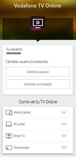 Dispositivos En Los Que Puedes Ver Vodafone Tv Online