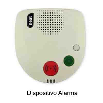 Dispositivo alarma para Teleasistencia Fija