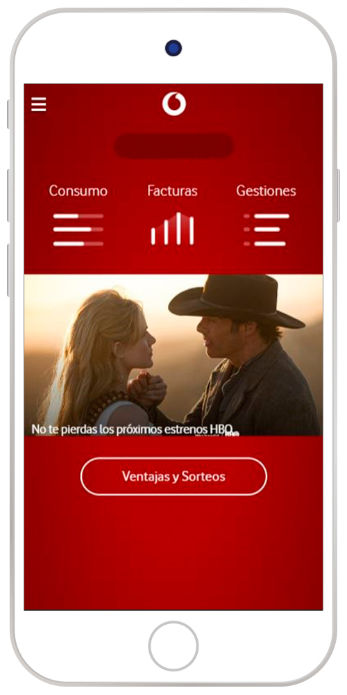 Home Mi Vodafone app antigua
